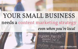 Content Marketing for Small Business