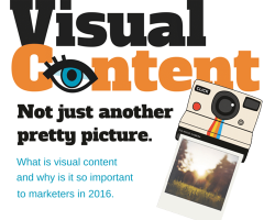 Visual Content… Not Just another pretty picture.